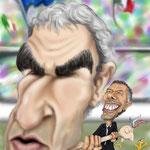 """Caricatura/Vignetta - Domenech - Donadoni """"Tradizioni"""""""