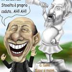 "Caricatura/Vignetta - Berlusconi ""Eppur si muove.."""