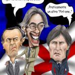 """Caricatura/VignettaMourinho - Moratti - Oriali """"Lo Special ONE"""""""