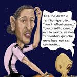 "Caricatura/Vignetta - Amauri  ""L'Alieno"""