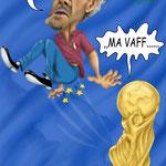 """Caricatura/Vignetta - Donadoni """"La Pazienza ha un limite"""""""