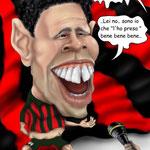 "Caricatura/Vignetta - Ronaldo ""Non TRANSigo.."""