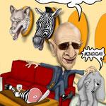 """Caricatura/Vignetta - Ballardini """"l'appetito vien mangiando"""""""