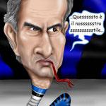 "Caricaura Mourinho - ""Stile Inter"""