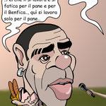 "Vignetta - Miccoli ""Nostalgia del Benfica"""