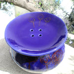Porta mozzarella in ceramica Le Terre di Rò