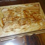 老松の硯箱