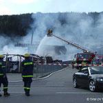 Großbrand in Tuttlingen