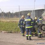 Katastrophenschutzübung Stetten