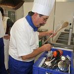 Olympiade der Köche Vorbereitungen