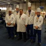 Olympiade der Köche Gruppenbilder