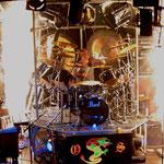 Drums im Feuerwerk