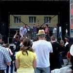 Band und Publikum