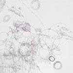 Kristin Finsterbusch, L 2, Zeichnung, Bleistift, Farbstift, 2009, 20x20 cm