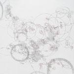 Kristin Finsterbusch, L 3, Zeichnung, Bleistift, Farbstift, 2009, 20x20 cm