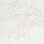 Kristin Finsterbusch, L 5, Zeichnung, Bleistift, Farbstift, 2009, 20x20 cm