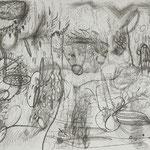Kristin Finsterbusch, Arbeit, Werkstatt, Bürger, Stadt, Tiefdruck, vernis mou, 2006, 40x50 cm