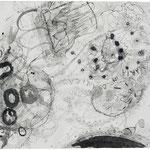 Kristin Finsterbusch, Roma Z4, Zeichnung, Tusche, 1998, 30x40 cm