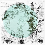 Kristin Finsterbusch, Feld, Wald und Kreis 4, Tiefdruck, 2 Platten, vernis mou, Aquatinta, 2012, 20 x 20 cm