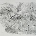 Kristin Finsterbusch, Dresden, Alugrafie, Pinsel mit Lavis, 60x80 cm