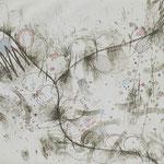 Kristin Finsterbusch, Zehntscheune, Tiefdruck, vernis mou, Aquarell, 2008, 20x20 cm