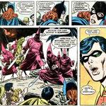 Fragmento del número 3 de Batman Family. Ojo a las palabras de Robin...