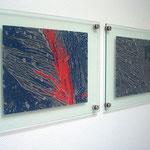 Glasbilder Mikrostrukturen - Steinhoff Kaltwalzen
