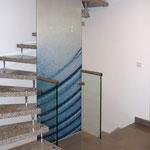 Trennwand zur Treppe