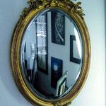 Einrahmungen Zollikofen b. Bern; Spiegel antik, Bilderböerse