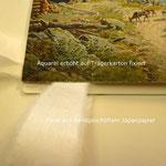 Falz aus Japanpapier