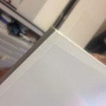 Konservierende Rahmung - Päckli (Rücken Distanzleiste u. Glas staubdicht abgeklebt)