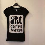 T-Shirt Femme - Art Comptant Pour Rien