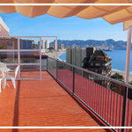 apartment to rent benidorm with sea view