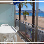 apartment on the beach of benidorm