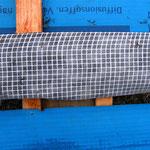 statt dieser Plane kann man auch diffusionsoffene Holzfaserplatten verwenden