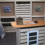 ...und auf die Stabilrohrmatte kann Lehmputz aufgetragen werden