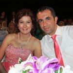 Kasabamız halkından Saim Kızı Aysun BAKIR, Fatih oğlu Enis MUTLU ile evlendi. 29/08/2012