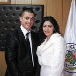 Kasabamız halkından Hasan kızı Ebru AKTEKİN, Ramazan oğlu Fatih BARAÇ ile nikahları Belediye Başkanı Cemal ALTAY tarafından kıyıldı. - 01/02/2012