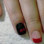Erika's Nagelstudio - Nails - Schwarz-Rot