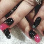 Erika's Nagelstudio - Nails - Schwarz-Pink