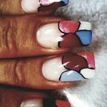 Erika's Nagelstudio - Nails - Natursteinmuster
