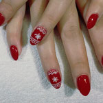Erika's Nagelstudio - Nails - Rot-Weiss Christmas