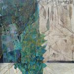 Spring thaw 140 x 120 cm Oil 2019