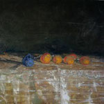 Still life 150 cm x 100 cm oil on canvas 2008