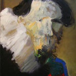 portrait 140 cm x 120 cm oil on canvas 2007