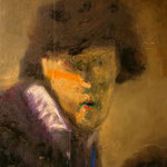 Rembrandt portrait 180 cm x 140 cm oil on canvas 2007
