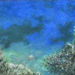 Autore : Kaori Tommasoni - Titolo: Segreto nascosto - Tecnica: Pastello - Dimensioni: 46x28 cm