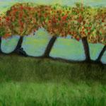 Autore : Felice La Sala - Titolo: Meditazione - Tecnica: Olio su tela - Dimensioni: 50x70 cm