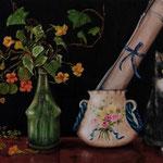 Autore : Giuseppa Matraxia - Titolo: Micio - Tecnica: Olio - Dimensioni: 50x70 cm