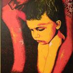 Autore : Lio - Titolo: Prime amor - Tecnica: Acrilico su tela - Dimensioni: 100x150 cm